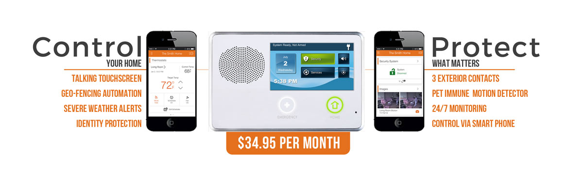 Smart Home Automation Packages Security Options